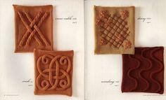 arts and craft books: knitting block by block   make handmade, crochet, craft