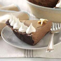 Chocolate-Amaretto Mousse Pie