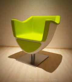 Designer Chair - 3d Graphics on Creattica: Your source for design ...