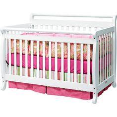 Baby Mod- Lily 4 in 1 white Crib- Walmart