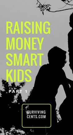 Raising money smart kids is your responsibility as a parent. Here's how I am raising my children to become smart with their money.