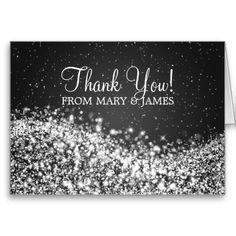 "Wedding ""Thank you"" Sparkling Wave Black Greeting Card so please read the important details before your purchasing anyway here is the best buyDiscount Deals Wedding ""Thank you"" Sparkling Wave Black Greeting Card Online Secure Check out Quick and Easy. Personalized Thank You Cards, Custom Thank You Cards, Wedding Thank You Cards, Red Wedding, Wedding Sets, Elegant Wedding, Thank You Greeting Cards, Purple Cards, Winter Wedding Invitations"
