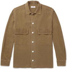 Balenciaga Coated-Panel Fleece-Back Cotton-Jersey Hoodie   Winter Clothes    Pinterest   Mr porter 7a115f0a3ad