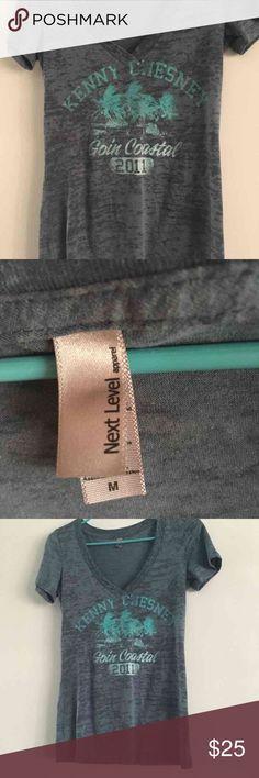 Kenny Chesney T shirt 2011 goin coastal size medium Kenny Chesney T shirt  Never worn!  Thank you Tops Tees - Short Sleeve