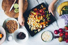 Warm Summer Fruit Salad + Video
