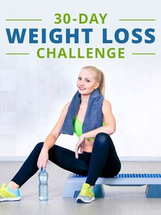 The beginning of the month is a great day to begin this 30 Day Weight Loss Challenge!  #weightloss #challenge #fitness