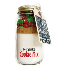 Allison\'s Christmas DIY Cookie Mix Chocolate Chip