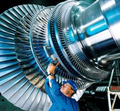 Rotor of a modern steam turbine, used in a power station Nigeria Travel, Pakistan Travel, Jet Engine, Steam Engine, Sweden Places To Visit, Steam Turbine, Denmark Travel, Geothermal Energy, Aircraft Engine
