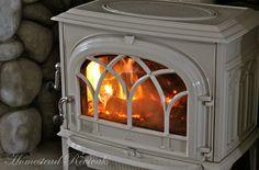 My favorite wood-burning stove!!