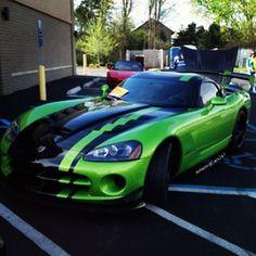 Godizzal Green machine #dodgeviper