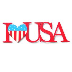 Use this Embellish Your Story I (heart) USA Magnet