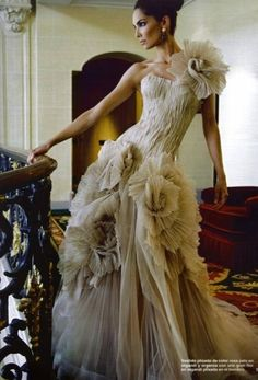 Haute Couture Romance of a Dress