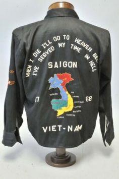 45: Saigon Vietnam 1967-68 End of Tour Jacket : Lot 45