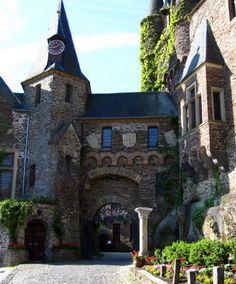 Cochem Castle -  Cochem, Germany