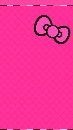 Pink Wallpaper Iphone Bow Wallpaper Sanrio Wallpapero Kitty Wallpaper Cellphone Wallpaper Couple Wallpaper Wallpaper Backgrounds Fondo Pink