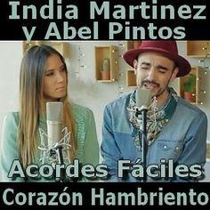 India Martinez - Corazon Hambriento ft. Abel Pintos (facil)