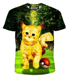 T Shirt With Persian Cat Face Sublimation Mens Festival Vacation Hipster Casual Tee
