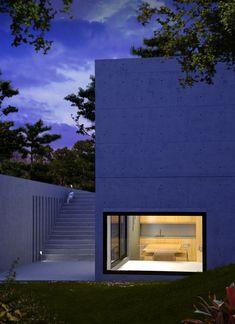 Koshino House, Ashiya, Hyogo perfecture, Japan by Tadao Ando Architect