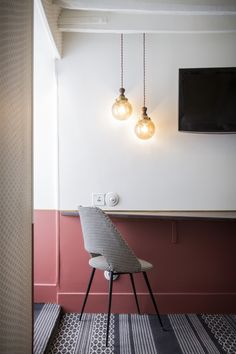 Un projet d'architecture par Dorothée Meilichzon | Hotel Panache, Paris  rénovation - aménagement - maisons - appartements
