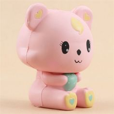 pink bear scented squishy by LeiLei