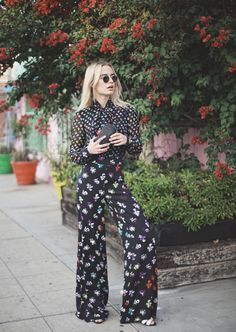 Sonya of Class is Internal is #SoDVF in the DVF Arabella jumpsuit  Shop the DVF Arabella jumpsuit: http://on.dvf.com/1LzFudA Shop the Love minaudière: http://on.dvf.com/1XfpadY