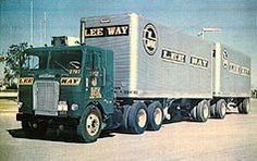 Lee Way Motor Freight Big Rig Trucks, Toy Trucks, Semi Trucks, Freightliner Trucks, Antique Trucks, Vintage Trucks, Transformers, Truck Transport, Freight Transport