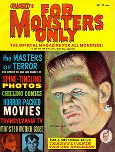 For Monsters Only - 1954