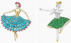 Van Cleef & Arpels' high jewellery ballerinas are an ode to dance Rough Diamond, Rose Cut Diamond, London In March, Dance Wallpaper, High Jewelry, Jewellery, Contemporary Dance, Van Cleef Arpels, Jewelry Collection