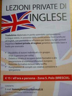 Inglese - lezioni con materiale didattico