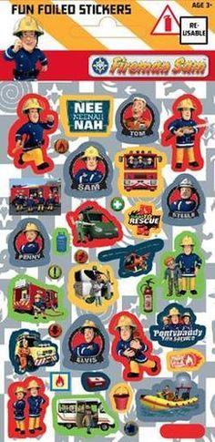 Fireman Sam Sticker Sheet - favor bag filler