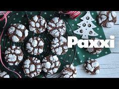 Χιονισμένα ραγισμένα μπισκότα σοκολάτας - Paxxi 1min147 - YouTube Chocolate Biscuits, Christmas Wreaths, Stuffed Mushrooms, Sweets, Cookies, Halloween, Holiday Decor, Recipes, Sugar