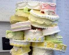 21 Jaw-Dropping Wedding Cakes These original and outrageous cakes will knock the socks off newlyweds and guests alike