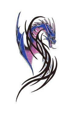 Dragon Tattoo Designs Set 1 - screenshot