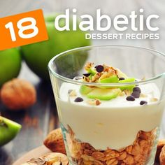 This is an awesome list of my favorite diabetic dessert recipes! If you are diabetic or just trying to eat healthier, you need to read this.
