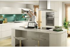 57 best white gloss kitchen images decorating kitchen kitchen rh pinterest com