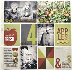 Apples *Urban Autumn, Lily Bee Design* - Scrapbook.com
