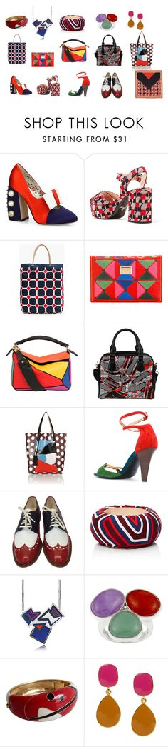 """circus acsessorise"" by svalsta ❤ liked on Polyvore featuring Gucci, Prada, J.Crew, Dolce&Gabbana, Loewe, Marni, Michel Vivien, Robert Clergerie, Mola SaSa and Avril 8790"