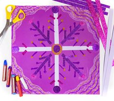 Snowflake collage art project Elementary school art lessons ideal for teaching children about balance and symmetry. Snowflake collage art project Elementary school art lessons ideal for teaching children about balance and symmetry. Kindergarten Art Lessons, Art Lessons For Kids, Art Lessons Elementary, Art For Kids, Christmas Art Projects, Winter Art Projects, School Art Projects, 3rd Grade Art Lesson, January Art