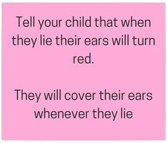 Tip for parenting toddlers ;)