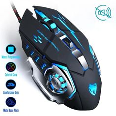 maxin Professional LED Optical Gaming Mouse Mice for Gamer