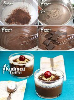 Krem Şokola Tarifi Croissants, Turkish Delight, Cooking Recipes, Healthy Recipes, Sweet Sauce, Middle Eastern Recipes, Turkish Recipes, Cupcake Cookies, Food And Drink