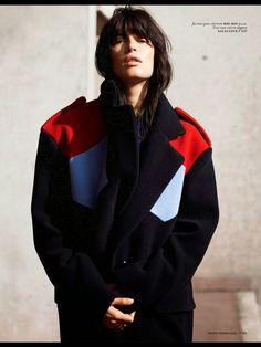 Sabrina Ioffreda by Ward Ivan Rafik for Vogue Netherlands October 2014 miu miu
