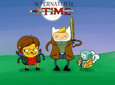 Supernatural Time #Supernatural