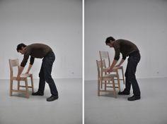 イスは3倍になるんだよ。 Triplette Chair - まとめのインテリア / デザイン雑貨とインテリアのまとめ。