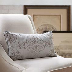 Birch Lane Eliza Cotton Pillow Cover & Reviews | Wayfair