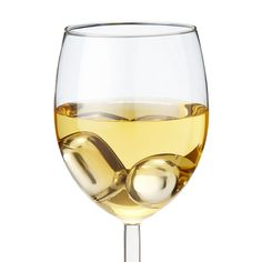 WINE PEARLS - keeps your white wine cold, while not watering it down.