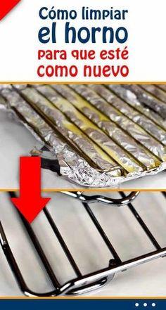 Cómo limpiar el horno sin esfuerzo y en 2 minutos con este genial truco - El Cómo de las Cosas