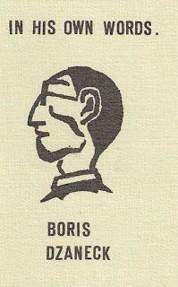 no longer forgotten music: Boris Dzaneck - In His Own Words (tape, 198?)