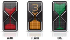 Sandglass Traffic Light