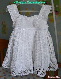 Casa da Salete: Vestidinhos de croche